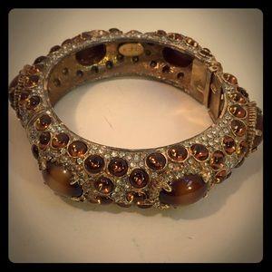 Vintage K.J.L. Kenneth Jay Lane Bangle Bracelet
